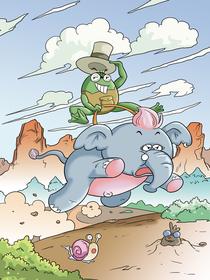 笨笨象与口袋蛙