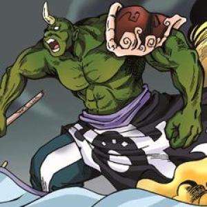 新奎木狼之刺妖漫画作者:西安博漫漫画设计有限公司